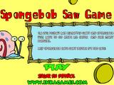 SpongeBob Saw Game