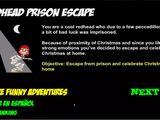 Redhead Prison Escape