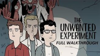 Unwanted Experiment by Dark Dome walkthrough FULL.