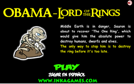 Obama Lord of the Rings, trailer real