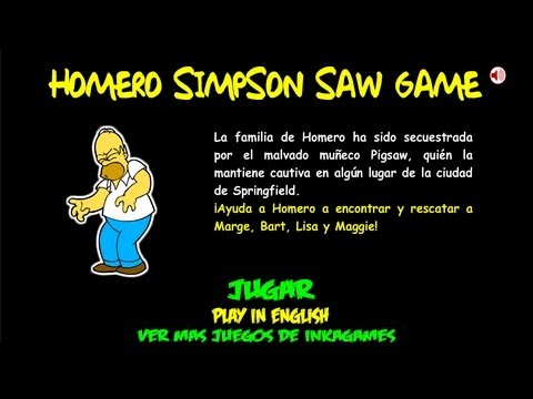Homer Simpson Saw Game Inkagames English Wiki Fandom Powered By