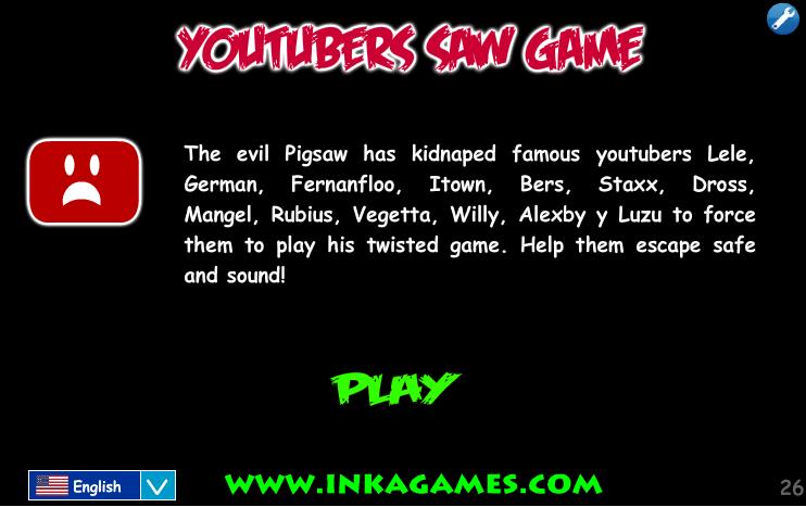 Youtubers Saw Game Inkagames English Wiki Fandom Powered