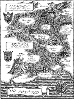 Lombrica and Argenta map