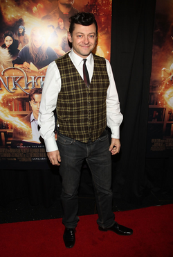 Andy Serkis Inkheart New York Premiere