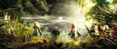 Water-nymphs in the Wayless Wood