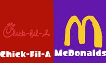 Chick-Fil-A VS McDonalds Cover