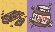 Chocolate vs nutella