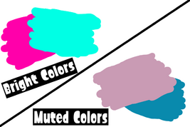 Bright Colors Vs Muted Colors