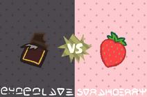 3 - Chocolate VS Strawberry