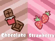 Chocolate vs Strawberry