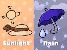 Sunlight vs Rain