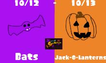 Bats Vs Jack-O-Lanterns