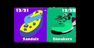 Sandals vs Sneakers