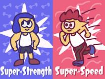 Super Strength vs Super Speed Mermaid Tears