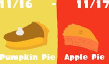 Pumpkin Pie VS Apple Pie