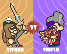 Sword vs Shield Splafest