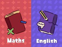 Maths vs English