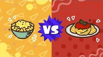 Splatfest Announcement Mac & Cheese VS. Pasta with Tomato Sauce