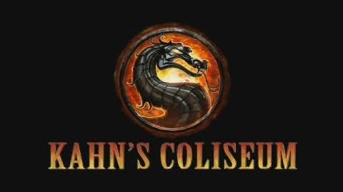 Mortal Kombat 9 - Environment Bio 4 Kahn's Coliseum (2011) OFFICIAL MK9 HD