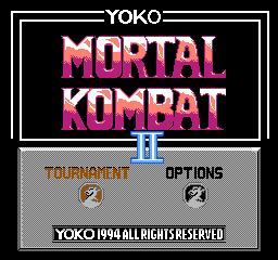 Mortal kombat ii yoko