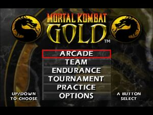 Mortal kombat gold