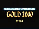 Mortal Kombat Mythologies Gold 2000