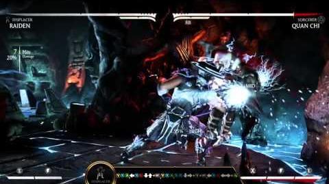 Mortal Kombat X Kombat Klass - Raiden
