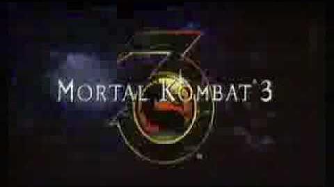 Mortal Kombat 3 - TV Commercial
