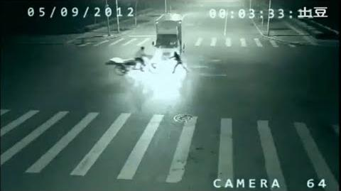 ANGEL SUPERHUMAN Teleportation caught on CCTV in China?