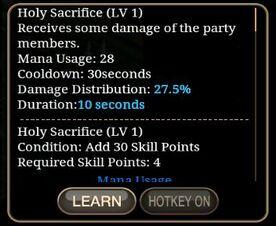 Holy Sacrifice