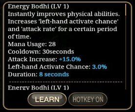 Energy Bodhi