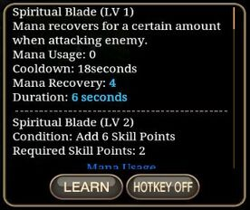 Spiritual Blade