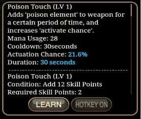 Poison Touch