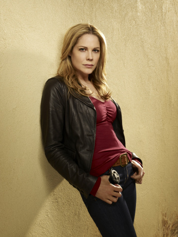 Mary McCormack as US Marshal Mary Shannon