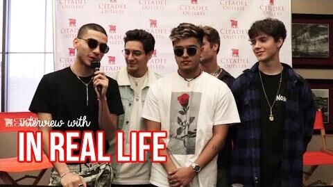 "INTERVIEW WITH IN REAL LIFE ""California Christmas,"" Biggest Accomplishments, & more!"