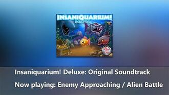 Insaniquarium! Deluxe Original Soundtrack - Enemy Approaching Alien Battle