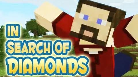 In Search of Diamonds - Blocky Mix (Minecraft Machinima)
