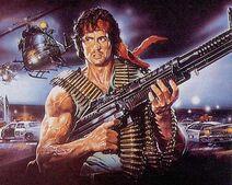 Rambo-art