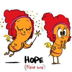 Esperanza, emoción eliminada