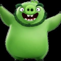 El rey cerdo Leonard es otro de los personajes que Hader interpreta.