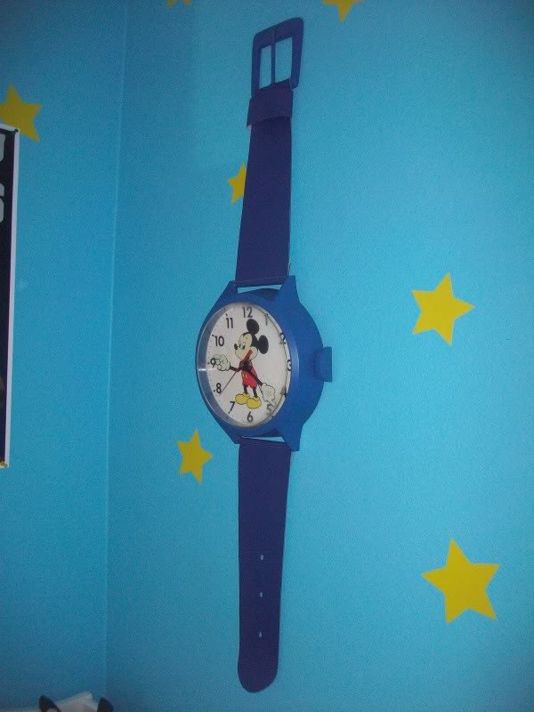 Toy Story Mickey Mouse Wall Clock Inside Toy Stories