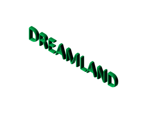 Dreamland in paint