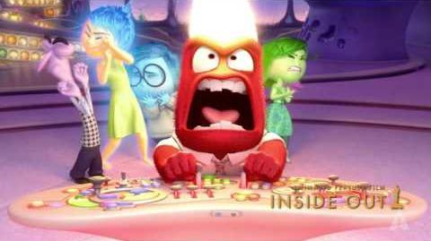 """Inside Out"" winning Best Animated Feature Film"