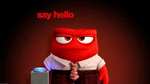"Inside Out (2015) - Spot ""Say Hello to Anger"""