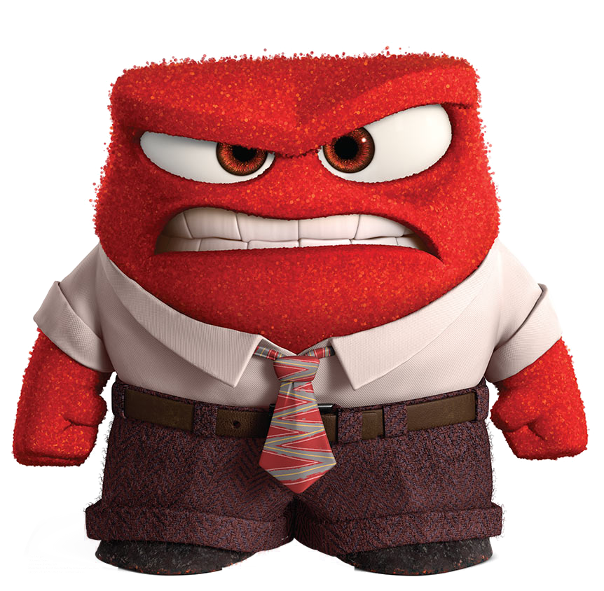image anger fullbody render png inside out wikia fandom