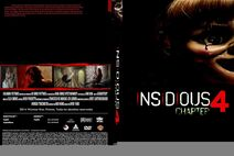 Insidious 4 dvd cover by steveirwinfan96-d8n0g1e