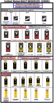 USNR ALL NEW INSIGNIA OF RANK