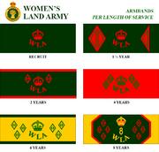 WLA-armbands