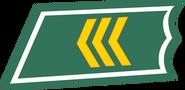 Kersantti kauluslaatta