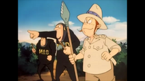 Thelma and MAD Agents in Prehistoric era